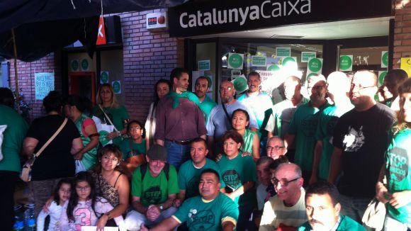 CatalunyaCaixa negociarà amb la PAH de Rubí si retira l'acampada de Sant Cugat