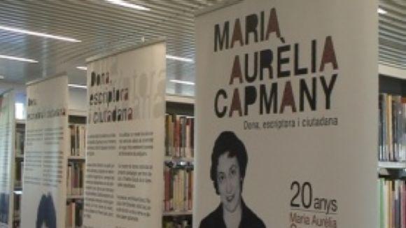 La biblioteca Marta Pessarrodona descobreix Maria Aurèlia Capmany