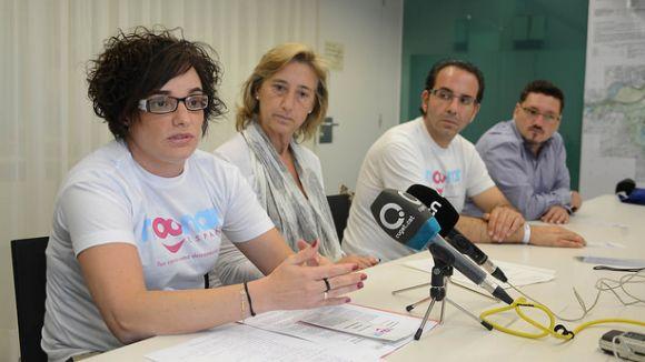 Noonan Espanya aterra a Sant Cugat per fer difusió de la malaltia