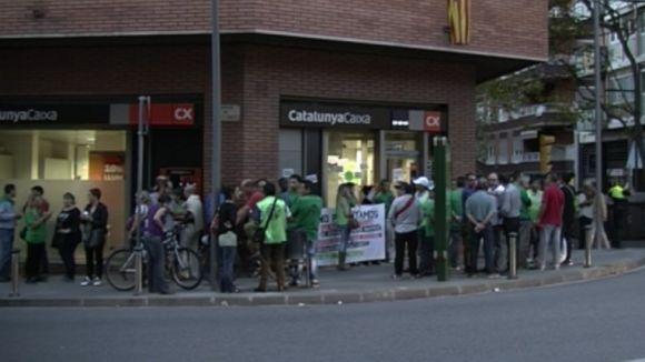 La PAH de Rubí continua la protesta i demana la comprensió ciutadana