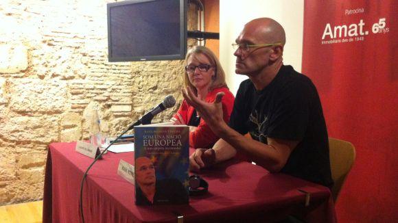 Romeva presenta a Sant Cugat 'Som una nació europea (i una carpeta incòmoda)'