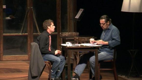 L'espectacle 'La Partida' posa la vida al taulell de joc del Teatre-Auditori