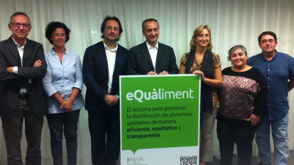 Sant Cugat introdueix l'eina eQuàliment de gestió dels ajuts socials