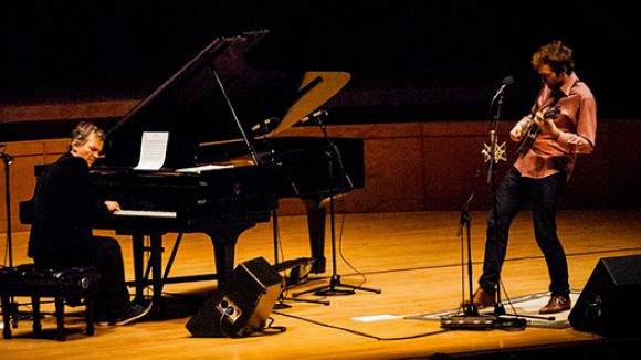 Chris Thile i Brad Mehldau protagonitzen una actuació per al record al Teatre-Auditori