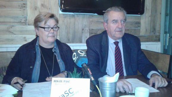 Rosa Cubero és la presidenciable de la uaSC a l'EMD de Valldoreix