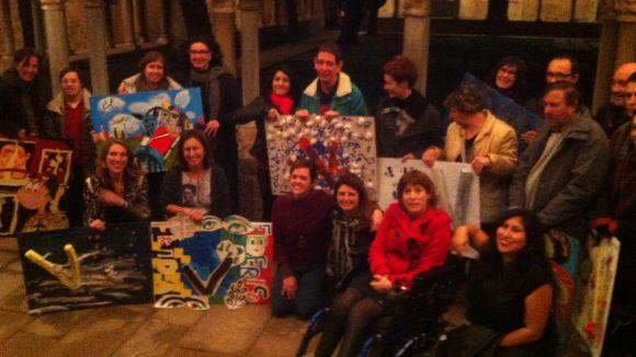 Imatge de grup dels participants a 'Fem un museu'