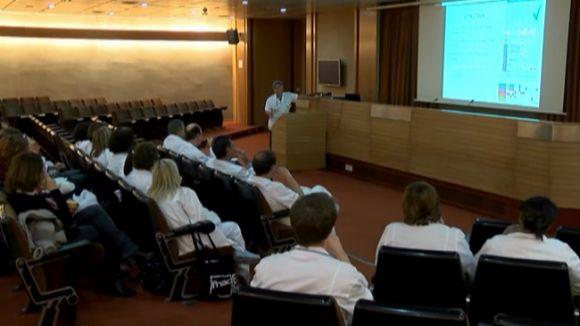 Pediatria i diabetis, temes del lunch i la reunió a l'Idcsalud
