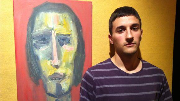 El jove pintor local Sergi Muñoz exposa per primera vegada amb una mostra a l'Ateneu
