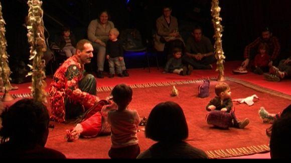 'Meu Jardim' endinsa els més petits en el món del teatre