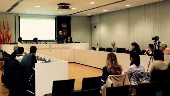 El projecte europeu d'estalvi d'aigües 'Urban Rain' visita Sant Cugat