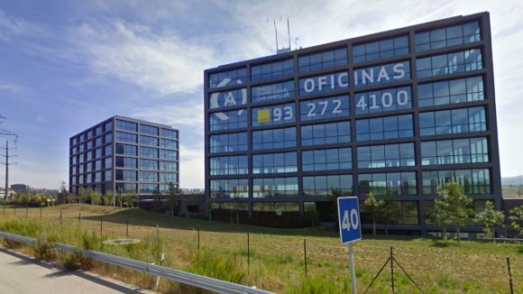 Oficines del parc empresarial de Can Ametller / Font: Google Maps