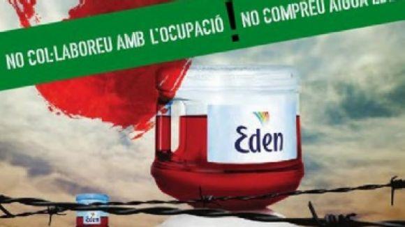 El CASC demana boicotejar l'aigua Eden Springs per la seva relació amb Israel