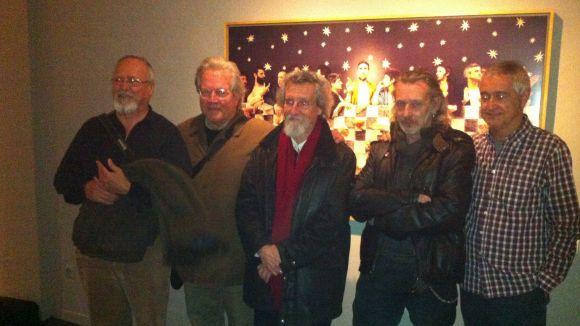 Els amics de Pere Formiguera lloen la seva trajectòria amb una exposició