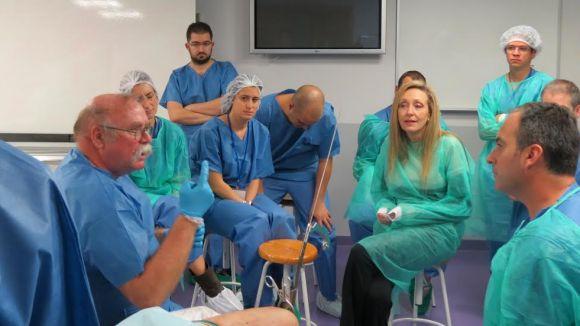 El doctor Gilbert Taglang tria la UIC per impartir un curs sobre les fractures d'ossos