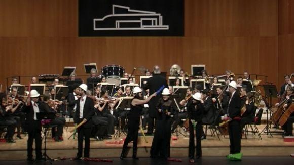 L'OSSC celebra el Nadal amb valsos, ballet i molt d'humor
