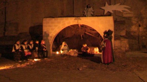 El Pessebre Vivent reclama solidaritat durant aquestes festes nadalenques