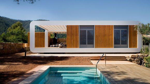 Noem presenta la 'casa ecològica 3.0'