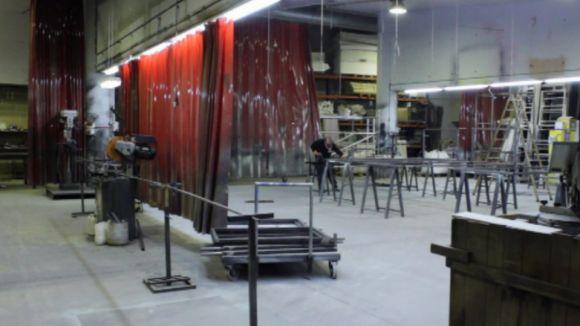 El Taller d'escenografia compleix 20 anys amb 250 creacions