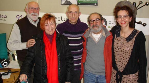 El 'Molta Comèdia' parla de l'obra 'El verí del teatre' amb el Grup de Teatre Espiral