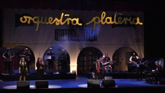 L'Orquestra Plateria remou sentiments al Teatre-Auditori dient adéu