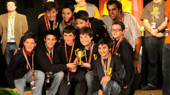 Alumnes del Viaró participen avui a la final estatal de la First Lego League