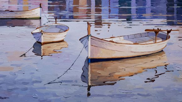 El pintor Kiku Poch estrena aquest divendres exposició a la Sala Rusiñol
