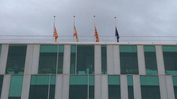 Sant Cugat decreta tres dies de dol per la tragèdia aèria dels Alps