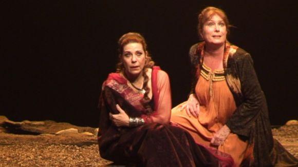 Vilarasau és 'Fedra' al Teatre-Auditori
