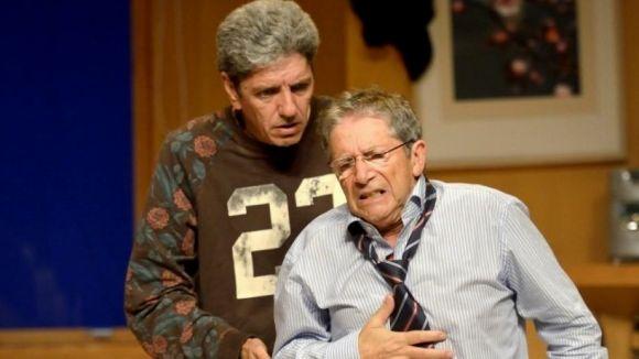 Joan Pera i Paco Morán són 'La Estraña Pareja' / Foto: Teatre-Auditori
