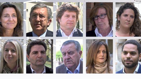 Especial multimèdia #estc: Els candidats a l'alcaldia es presenten a la ciutadania i avancen propostes electorals