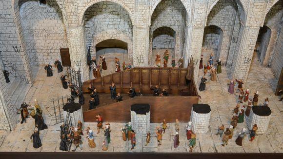 Donació al Museu de tres maquetes per donar a conèixer fets històrics de la ciutat