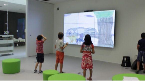 Primer taller infantil al 'Living Lab'