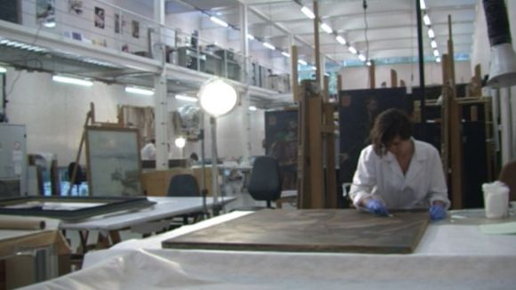 Com és i què fa el Centre de Restauració de Béns Mobles