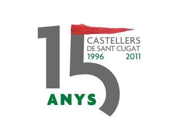 Els Gausacs bufen les espelmes dels 15 anys amb el desig de consolidar els castells de vuit