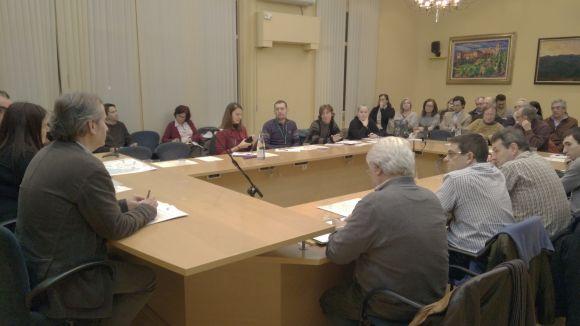 El consell de barri d'aquest dimecres ha tingut una vintena d'assistents