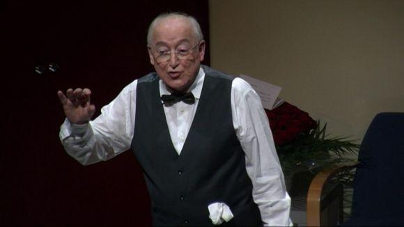 Jaume Pla abaixa el teló en una nit d'emocions al Teatre-Auditori