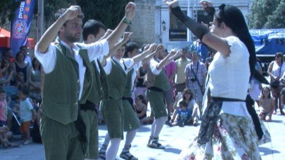 Cinc colles de balls i entremesos d'arreu de Catalunya es donen cita a la Festa Major de Sant Cugat