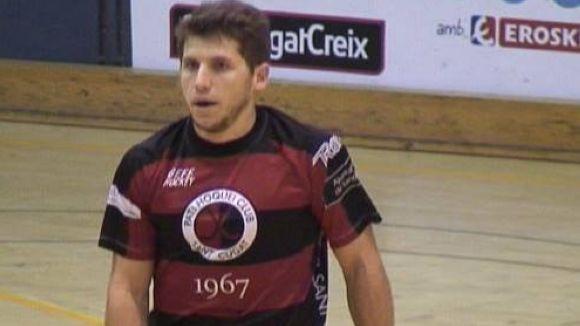 Pablo Aguarón marxa del Patí Hoquei Club Sant Cugat i valora retirar-se