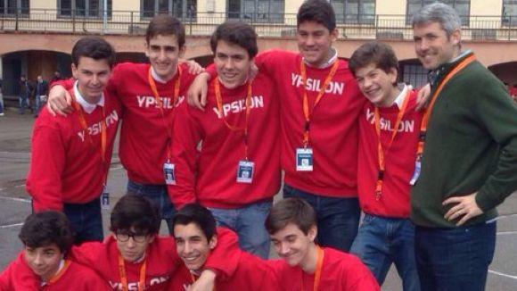 L'equip Ypsilon concursa avui a Girona / Foto: Twitter Ypsilon Viaro