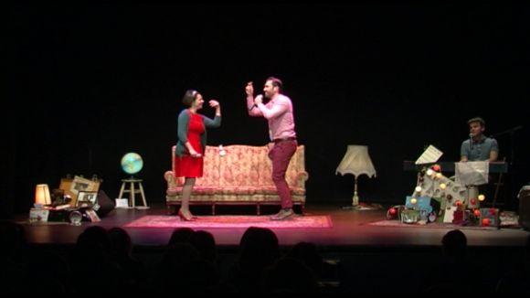 'Lo tuyo y lo mío' omple el Teatre de Mira-sol