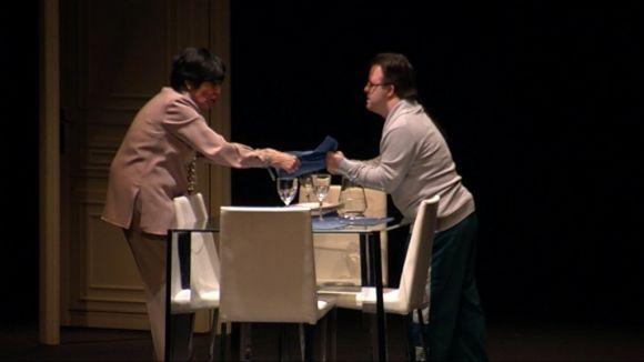 El Teatre-Auditori es rendeix a la veterania de Concha Velasco amb el muntatge 'Olivia y Eugenio'