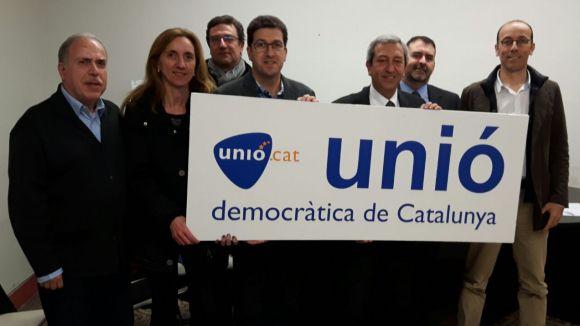 La nova junta d'UDC / Foto: Cedida