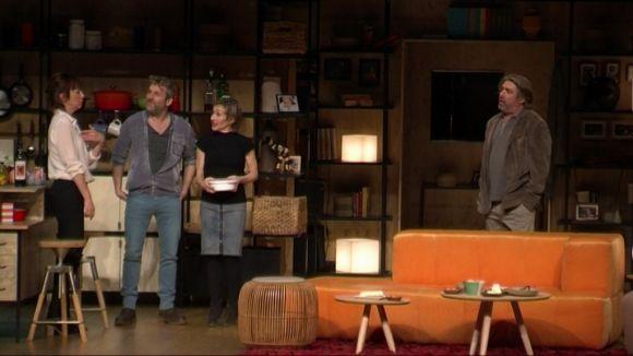 'Els veïns de dalt' dissecciona les relacions de parella amb el bisturí de l'humor
