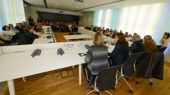 Un moment de la trobada d'aquest dimarts / Foto: Localpres