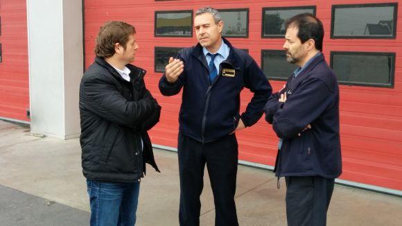 El PSC lamenta 'el dèficit de personal i de material de treball' del parc de bombers de Rubí-Sant Cugat