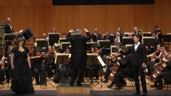 L'Orquestra Simfònica Sant Cugat i la Fundació Victòria dels Àngels evoquen la passió de 'Cavalleria Rusticana'