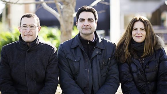 Els tres regidors de C's / Foto: Ciutadans