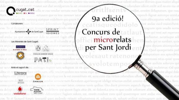 Ja es poden fer arribar les propostes per al 9è Concurs de Microrelats per Sant Jordi