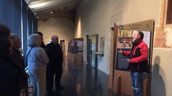 El Museu del Monestir descobreix amb una mostra les restes arqueològiques del Parc de l'Alba