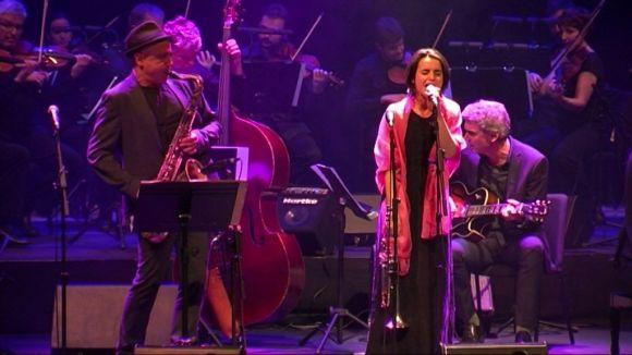 Chamorro, Motis i l'ONCA encisen el Teatre-Auditori amb un concert de 'jazz amb cordes'